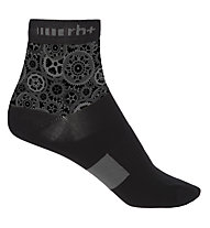 rh+ Fashion Sock 10 - Radsocken, Black/Grey