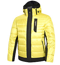 rh+ Freedom Down Jacket Herren Daunenjacke mit Kapuze, Light Yellow