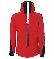 rh+ Furggen - Skijacke mit Kapuze - Herren, Red