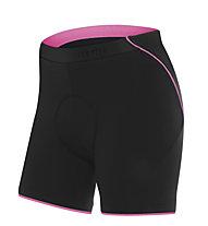 rh+ Fusion W I Shorts Damen-Radhose + Fusion W I Shorts Radhose, Black/Deep Pink