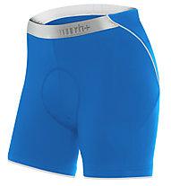 rh+ Fusion W II Shorts Damen-Radhose, Petrol/White
