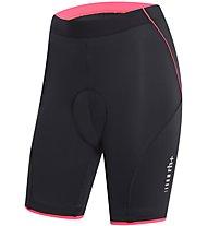 rh+ Fusion W Shorts (21 cm) Damen-Radhose, Black/Red