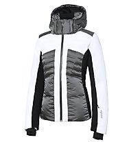 rh+ Galen W - Skijacke - Damen, Grey/White