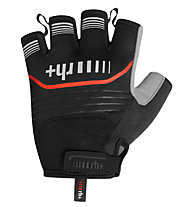 rh+ Guanti da bici Hero Glove, Black/Red