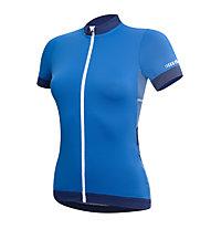 rh+ Hope W Jersey Damen-Radtrikot, Petrol/Blue