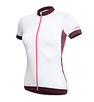 rh+ Maglia bici donna Hope W Jersey, White/Grape Violet