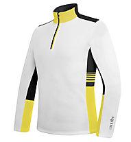 rh+ Maglia sci Infinity Jersey, White/Yellow