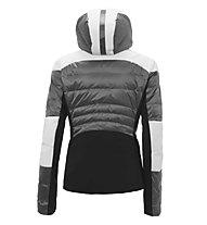rh+ Iwatake W Down - giacca da sci - donna, White/Grey