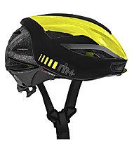 rh+ Lambo - casco bici - uomo, Black/Yellow