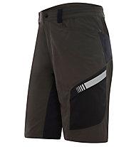 rh+ Pantaloni da bici Lander Shorts, Wood/Black