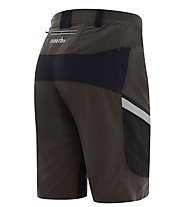 rh+ Lander Shorts MTB-Radhose, Wood/Black