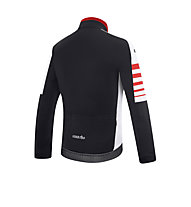 rh+ Legacy Radjacke, Black/White/Red