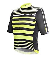 rh+ Legend Jersey Radtrikot, Black/Fluo Yellow