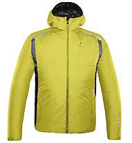 rh+ Pack Blend Hooded Jacket Herren Thermoskijacke mit Kapuze, Fresh Green/Black