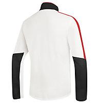 rh+ Planar Jersey, OffWhite/Red/Black