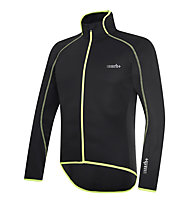 rh+ Prime Jacket Radjacken, Black/Fluo Yellow