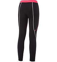 rh+ Reflex - pantaloni lunghi bici - donna, Black/Red