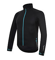 rh+ Giacca bici Shark Jacket, Black/Water Green