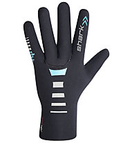 rh+ Guanti bici  Shark Neo Glove, Black/Water Green