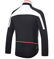 rh+ Space - Radjacke - Herren, Black/White/Red