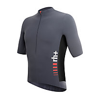 rh+ Maglia bici SpeedCell Jersey, Anthracite/Black/Red