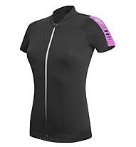 rh+ Spirit W Jersey - Radtrikot - Damen, Black/Deep Pink