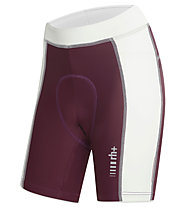 rh+ Spirit W Shorts Damen-Radhose, Grape Violet/White