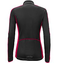 rh+ Sprint W - Radjacke - Damen, Black/Red