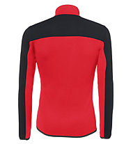 rh+ Streif Jersey - felpa in pile - uomo, Red/Black