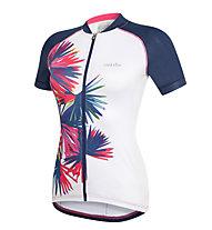 rh+ Venus W Jersey PRT Damen-Radtrikot, White/Blue