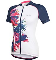 rh+ Venus W Jersey PRT - Radtrikot - Damen, White/Blue