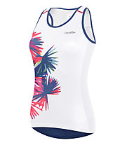 rh+ Venus W Top PRT - Radtop - Damen, White/Blue