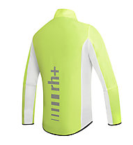 rh+ Giacca antivento bici Wind Shell, Fluo Yellow/Black