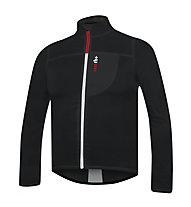 rh+ Wind Shell - giacca bici antivento - uomo, Black/White
