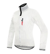 rh+ Wind W Shell Damen-Radjacke/Windstopper, White