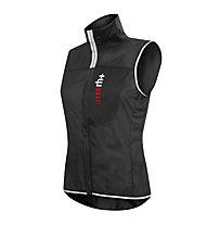 rh+ Gilet antivento Wind W Vest, Black