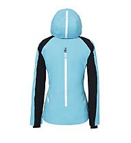 rh+ Youla - Skijacke mit Kapuze - Damen, Light Blue