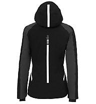 rh+ Youla - Skijacke mit Kapuze - Damen, Black/Grey