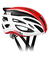 rh+ Z2in1 - casco bici, White/Red