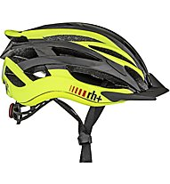 rh+ Z2in1 - Radhelm, Grey/Yellow