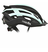 rh+ Z2in1 - casco bici, Black/Light Green