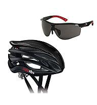 rh+ Z2in1 + Legend - set casco bici + occhiale bici