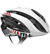 rh+ Z Alpha - casco bici da corsa, White/Black