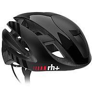 rh+ Z Alpha - casco bici da corsa, Black/Black