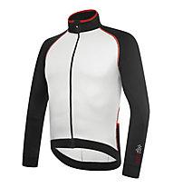 rh+ Zero LS Jersey langärmliges Radtrikot, Black/White/Red
