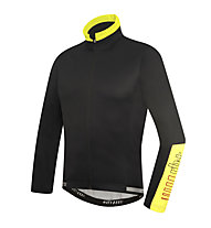 rh+ Zero Radjacke, Black/Fluo Yellow