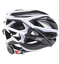 rh+ Casco bici ZW, Black/White