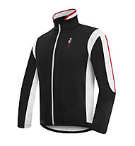 rh+ Impact Jacke, Black/White/Red