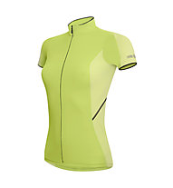 rh+ Mirage W Jersey FZ Maglia ciclismo Donna, Acid Green/Spring Green