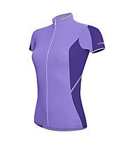 rh+ Mirage W Jersey FZ Maglia ciclismo Donna, Lilac/Dark Violet